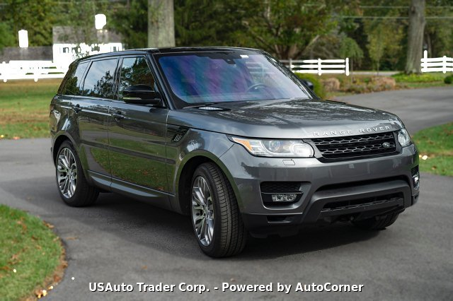 2016 Land Rover Range Rover Sport 5.0L V8 Supercharged 8-Speed Aut